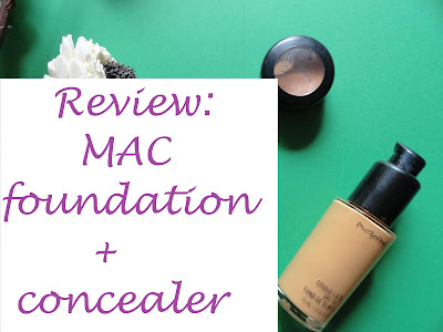 REVIEW: MAC StudioFix Fluid in NC 44 and MAC StudioFinish concealer in NW 35 image