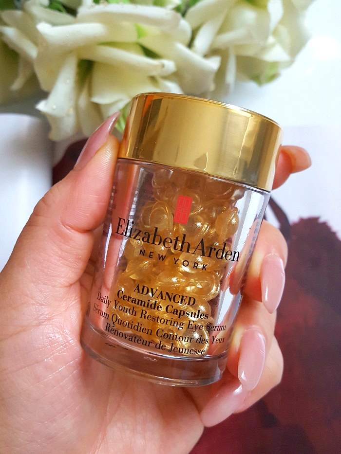 Review: Elizabeth Arden - Advanced Ceramide Capsules Eyes 1