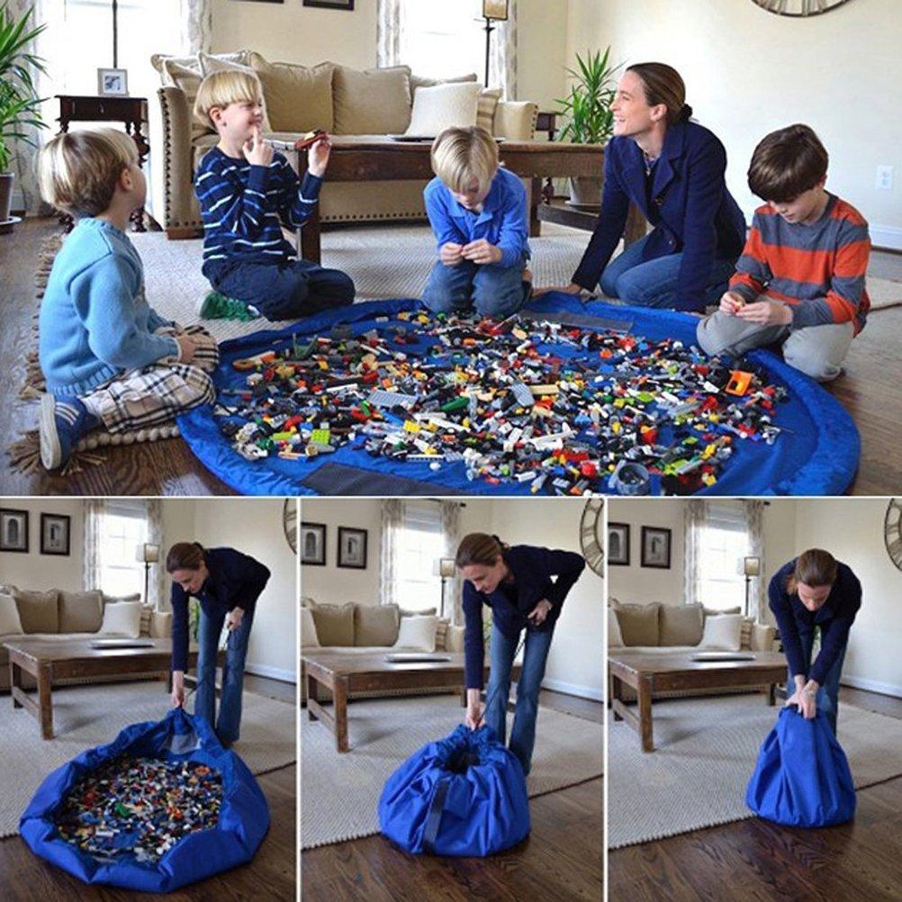 Contenitori Per Giocattoli In Plastica.12 Idee Low Cost Per Tenere In Ordine I Giocattoli Dei Bambini
