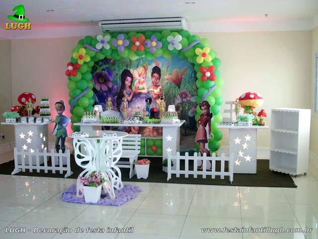 Decoração festa de aniversário infantil Tinker Bell - Provençal luxo
