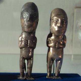 Ídolos de Prata, no Museo Historico Regional de Cusco