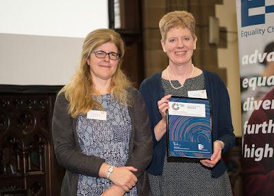 Professor Eva Kaltenthaler receives ScHARR's Athena SWAN Award