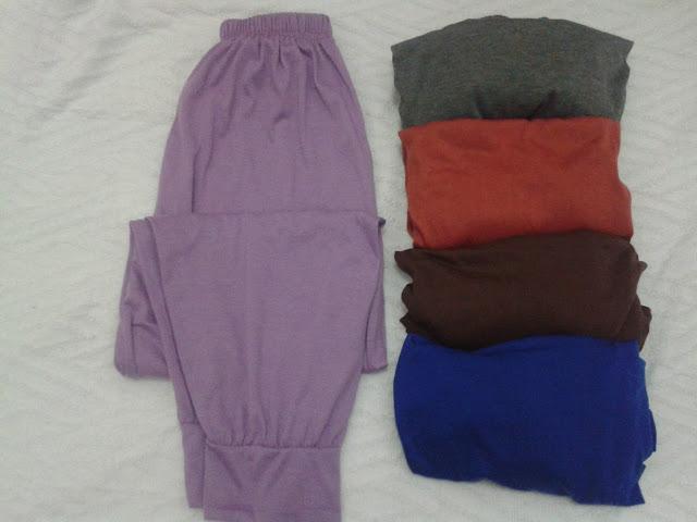 Celana Aladin Polos Kombinasi Hijab Murah