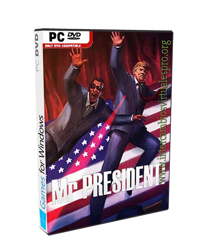 MR PRESIDENT poster box cover