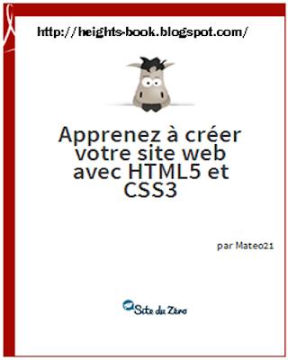 Télécharger Livre Gratuit Apprenez à créer votre site web avec HTML5 et CSS3 pdf