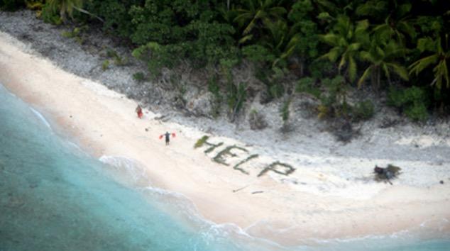 Perkataan 'HELP' Selamatkan 3 Lelaki