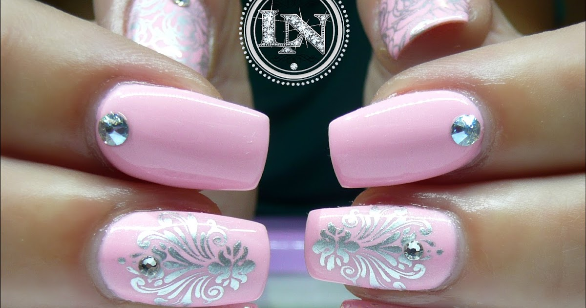 Luminous nails little baby pink cuties pink gel nails prinsesfo Image collections