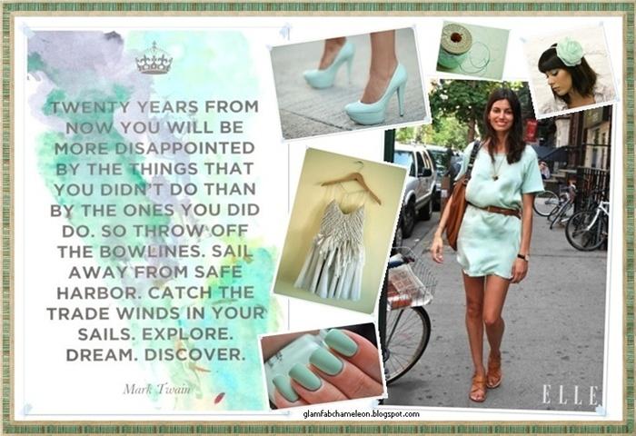 mint color nails dress shoes quotes makeup