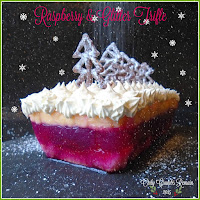 Free-Standing Raspberry and Glitter Trifle
