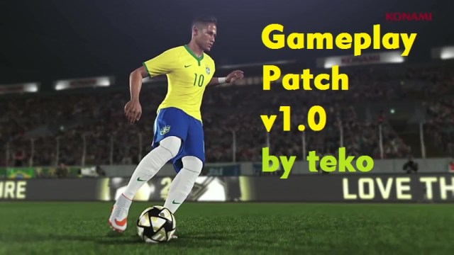 PES 2016 Gameplay Patch v1.0 by TeKo