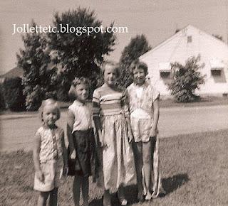 Anne Allen Hughes, Mary Allen McFadden, Peggy Allen Coker, Wendy Slade Mathias https://jollettetc.blogspot.com