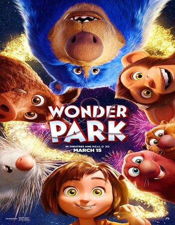 Wonder Park (2019) English 480p HDRip x264 250MB ESubs Movie Download