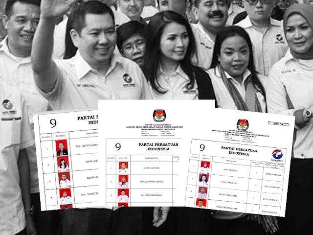 Daftar Calon Sementara Anggota DPRD Kota Bandung Pemilu 2019 dari Perindo