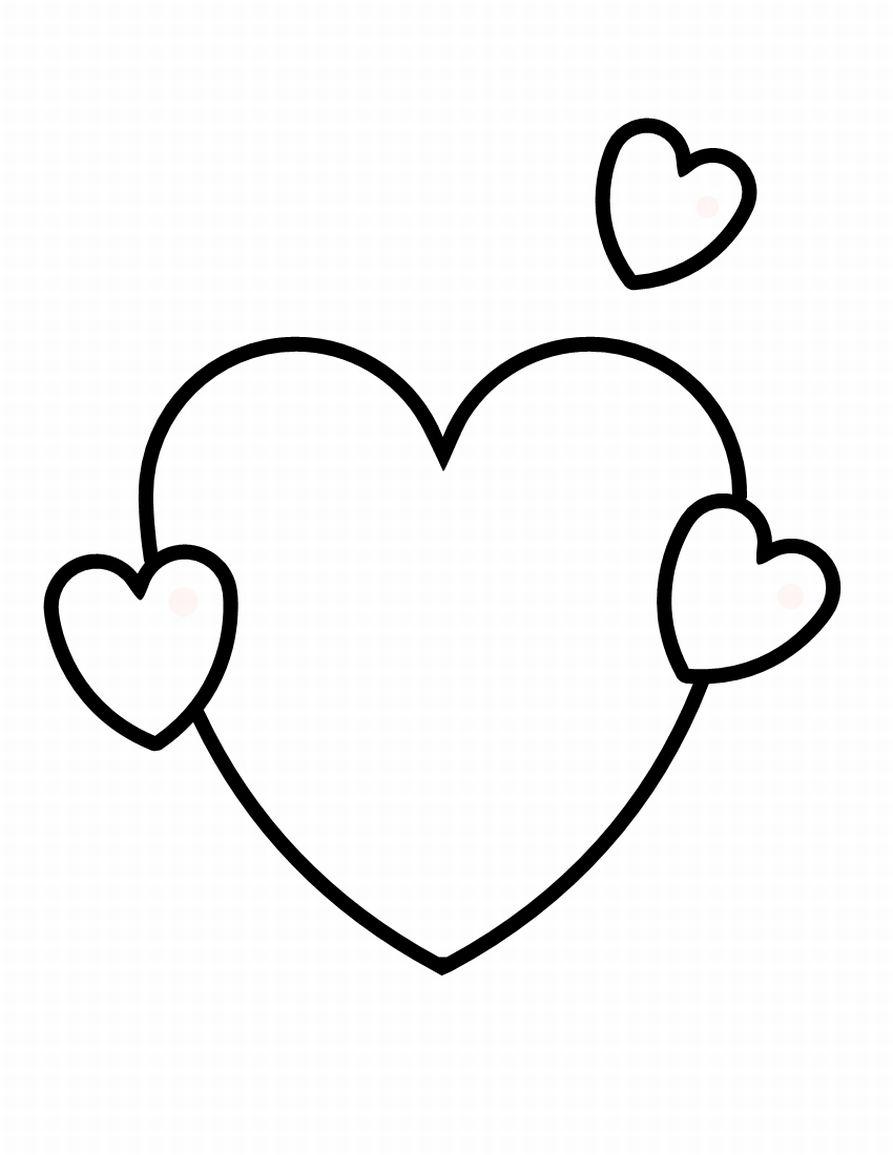 Garfield Kleurplaat Verjaardag Hearts Valentine S Day Coloring Child Coloring