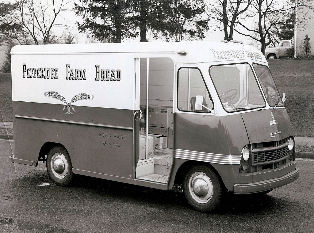 Pepperidge Farm Bread Truck