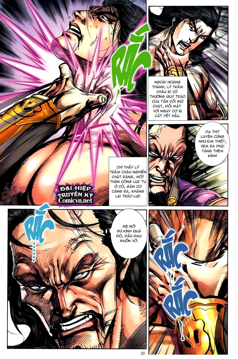 Đại Hiệp Truyền Kỳ (Thần Châu Hậu Truyện) chap 51 - Trang 20
