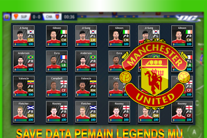 Save Data DLS Pemain Legends Manchester United