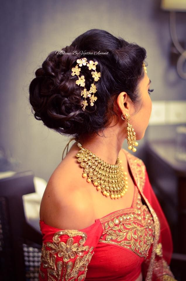 9 Stunning Reception Hairstyles For 2018 | Indian Beauty and Lifestyle blog