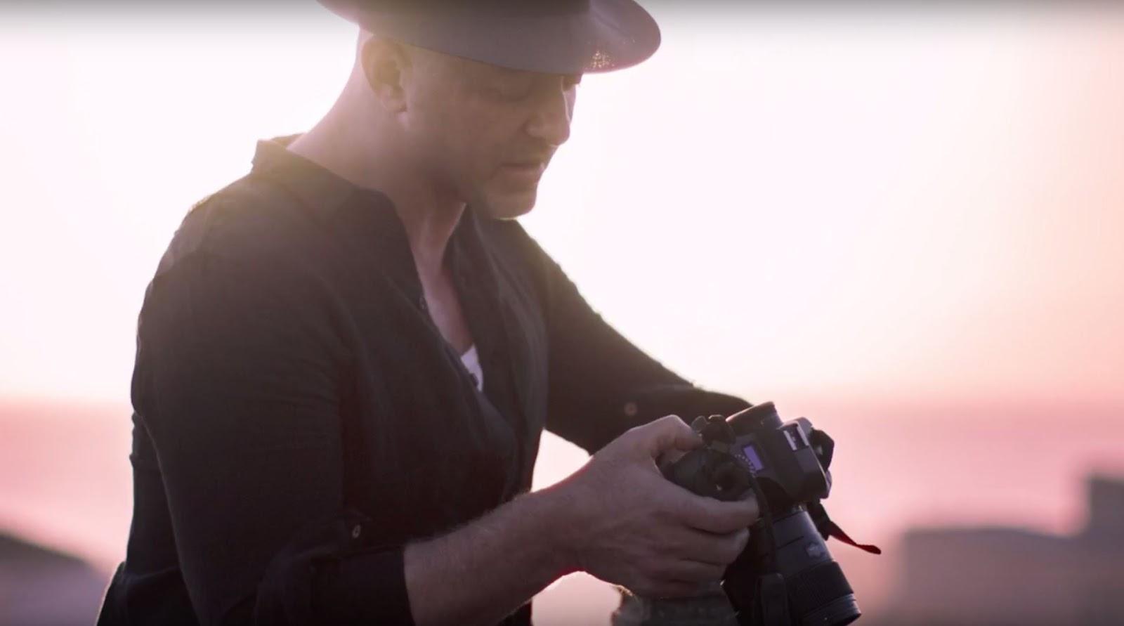 Celebrity photographer David Drebin
