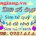 Sim số đẹp mobi giá rẻ tại Hà Nội