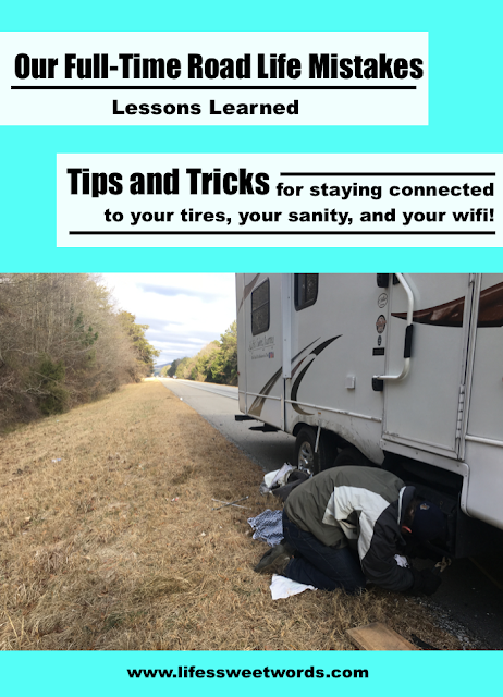 Full-Time RV Life Mistakes || Staying Connected on the road