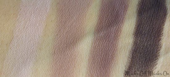 tartelette palette swatches