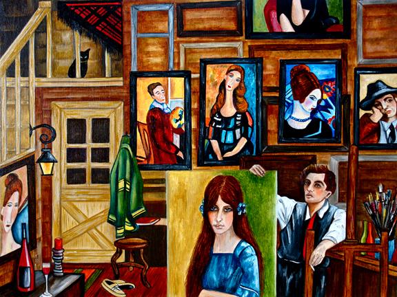 Jeanne Modigliani: A Painting A Day Objets D' Art: October 2011