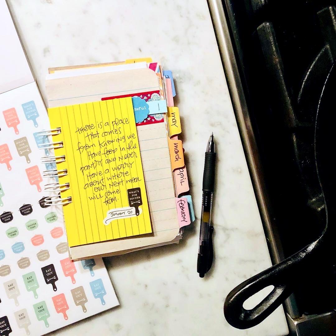 #gratitude #Gratitude Journal #smashbook #junk journal #I Am Thankful #thanfulness #grateful #notebook