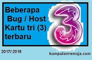 Daftar Bug / Host Kartu Tri Opok dan Sawer Terbaru