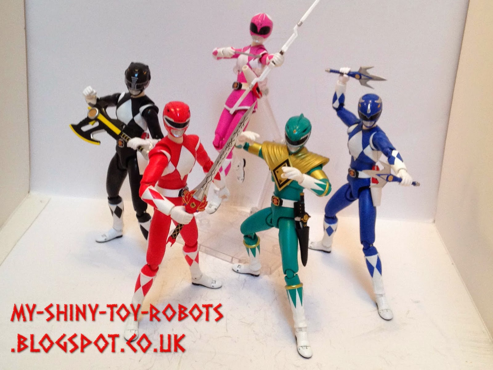ZYURANGER! (or POWER RANGERS season one)