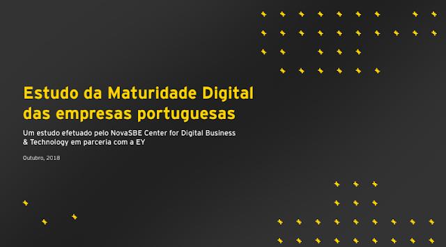 Estudo EY: Maturidade Digital das Empresas em Portugal