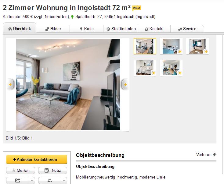 alias vladimir jilab 2 zimmer wohnung in. Black Bedroom Furniture Sets. Home Design Ideas