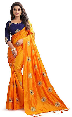 Women's Silk Saree With Blouse Piece