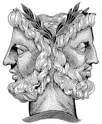 Two headed Janus for the New Year: Looking Back, Searching Forward