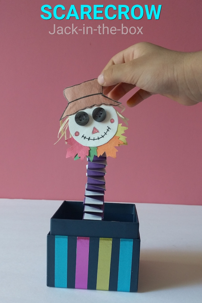 Scarecrow Fall And Halloween Craft The Joy Of Sharing