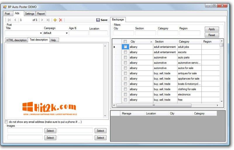 Backpage Autoposter Crack Backpage Posting Software Download