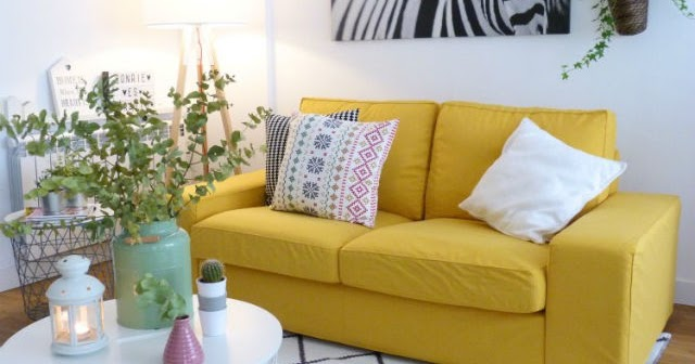Una pizca de hogar nueva funda de comfort works para mi for Sofa kivik 2 plazas