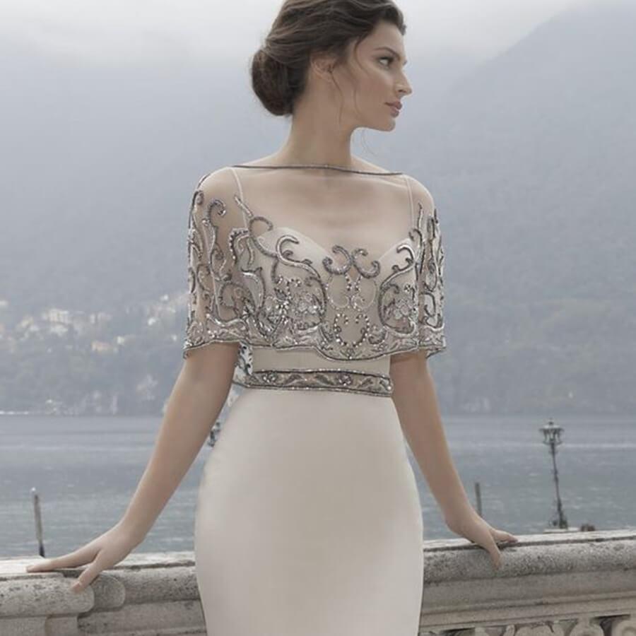 Boleros para vestido de noiva