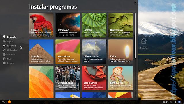 Instalação de novos programas no Endless OS