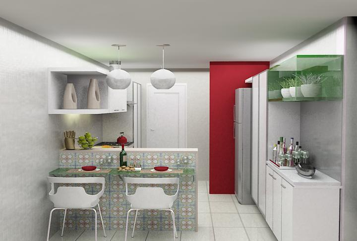 Cozinhas pequenas charme e simplicidade amando cozinhar for Cocinas integrales apartamentos pequenos