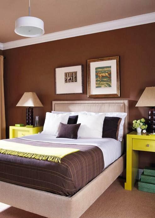 Dormitorios en color chocolate dormitorios colores y estilos - Color paredes dormitorio ...