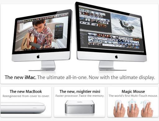 Nuevos iMac, Macbook