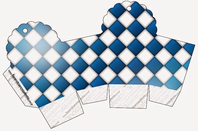 Caja para cupcakes, chocoltes o golosinas de Fiesta de la Cerveza.