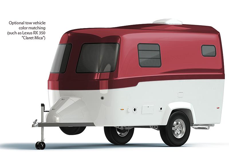 Fibre Glass Camper Van