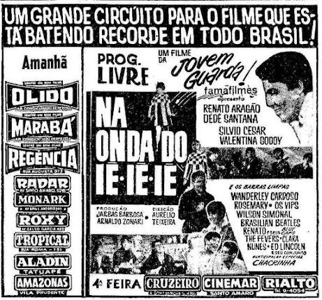 Confr4ria - Cultura Pop, diversão, humor e um pouco de loucura.: Na Onda do Iê  Iê Iê – O Início da Era Os Trapalhões nos Cinemas