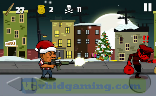 Duterte Fighting Crime 2 - Christmas Theme Gameplay