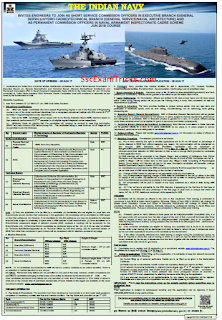 Indian Navy Officer Recruitment 2017