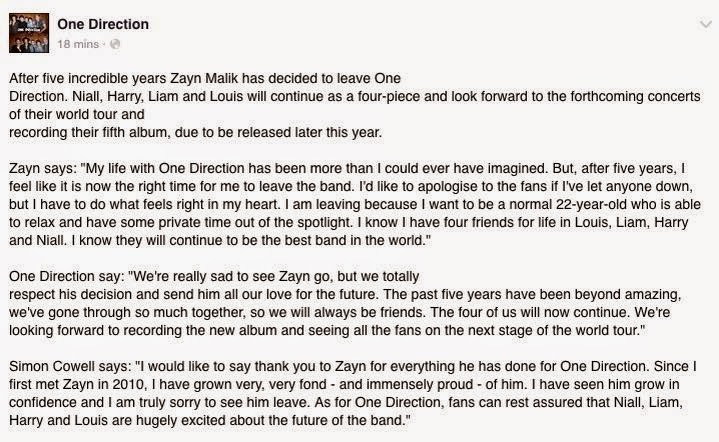 respect one direction