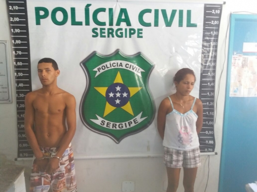 Duas pessoas são presas por tráfico e homicídio em Glória