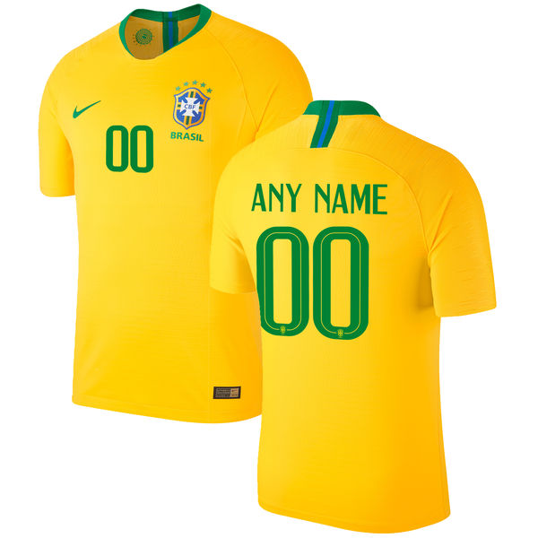 df2bc83a9 ... samba gold shade as the kits worn by the team that won the tournament  back in 1970 – the first year the games were broadcast in colour. Brazil  Jersey